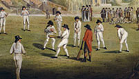 Cricket at Moulsey Hurst 1780, by Richard Wilson RA